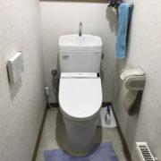 トイレ交換工事後