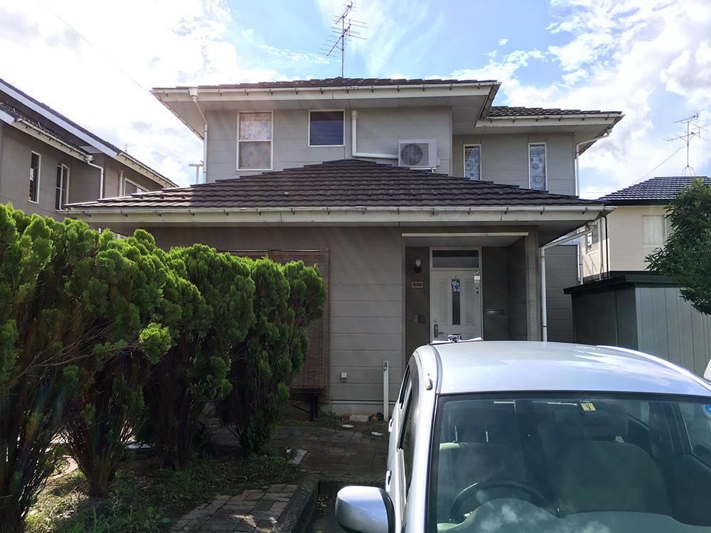 外壁・屋根塗装工事前