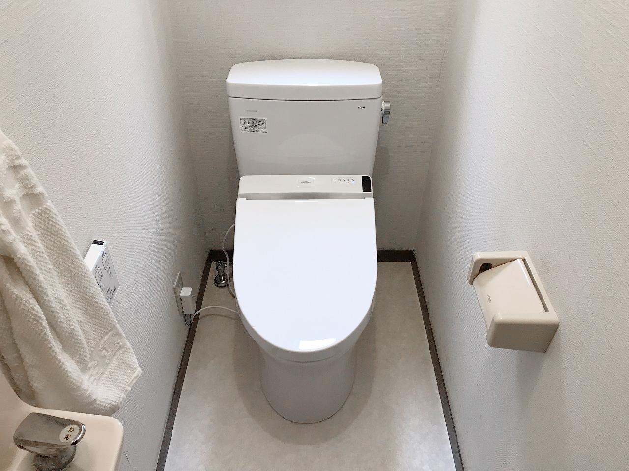 より綺麗なトイレに!