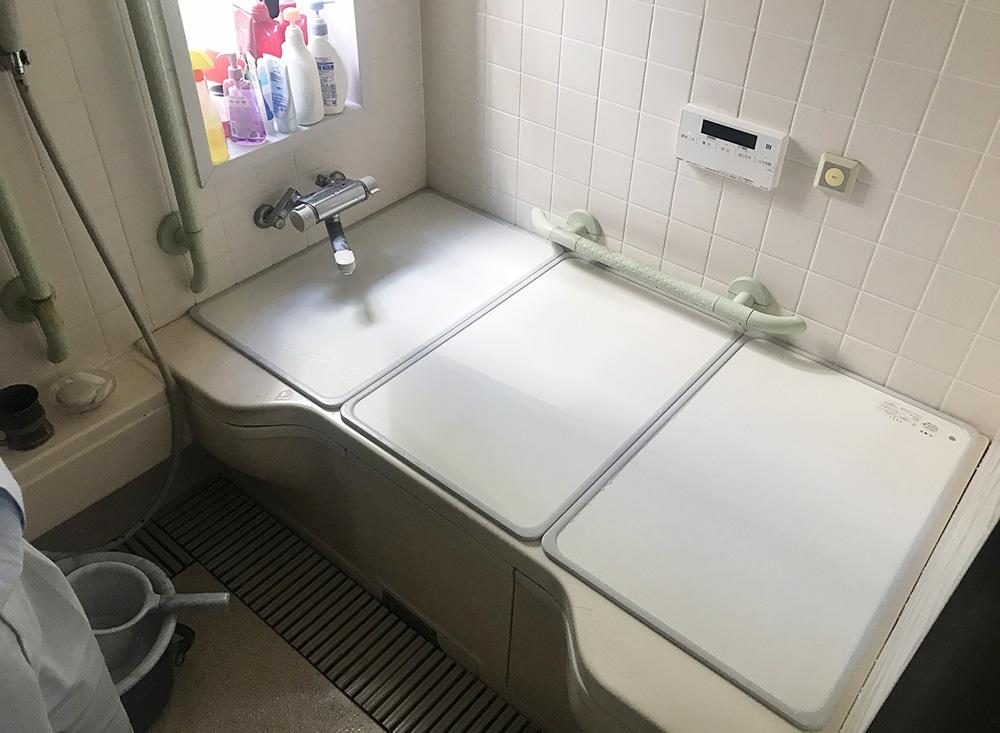 お風呂リフォーム:ビフォー