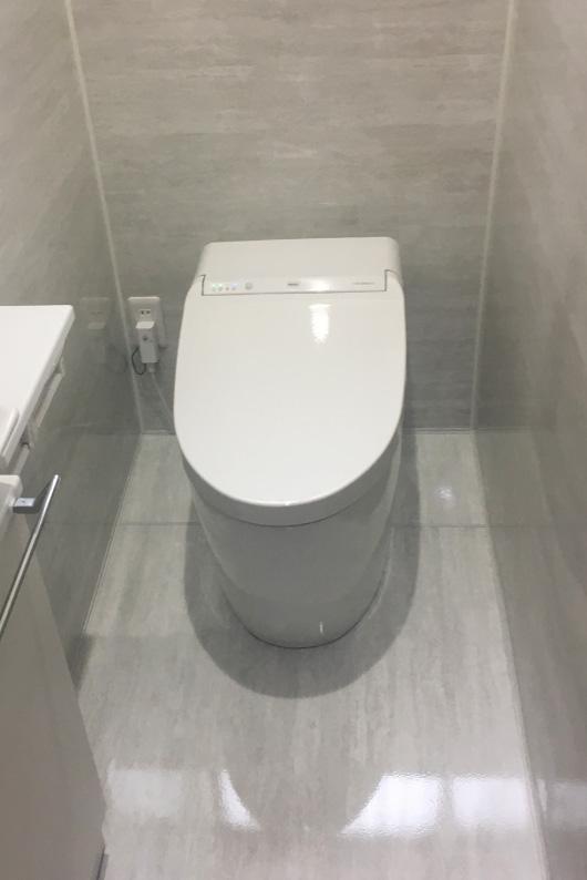 ホーローパネルのトイレ!