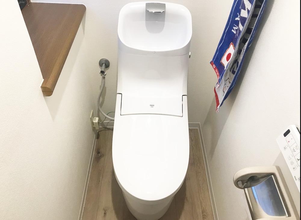 清潔感を保てるトイレ